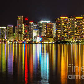 Rene Triay Photography - The Reflecting City Miami Florida