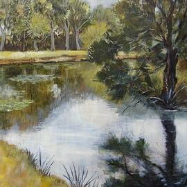 Cathy MONNIER - the  river Layon