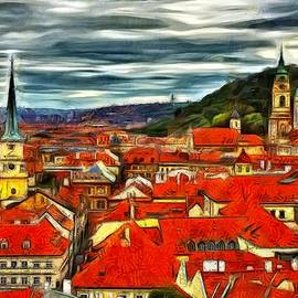Jean-Marc Lacombe - The Rooftops of Prague