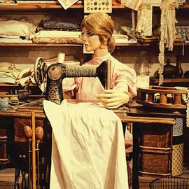 Priscilla Burgers - The Seamstress At Work