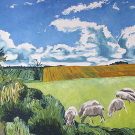 Francois Fournier - The Sheep Along The Road