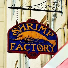 Linda Covino - The Shrimp Factory sign