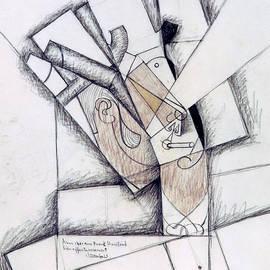The Smoker - Juan Gris