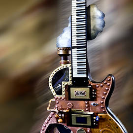 Deborah Klubertanz - The Steam Punk Gibson Guitar
