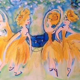 Judith Desrosiers - The sunflowers wake the weary gentleman