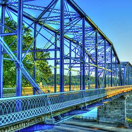 Reid Callaway - The Suns Glow Walnut Street Pedestrian Bridge Chattanooga Tennessee
