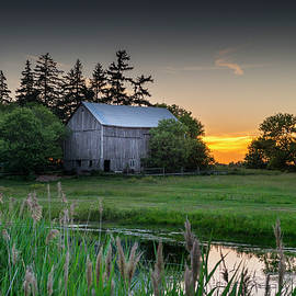 Brent Buchner - The Sunset Behind the Barn