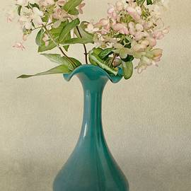 CJ Anderson - The Teal Glass Vase