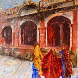 Uma Krishnamoorthy - The Temple at Haridwar
