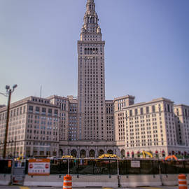 Michael Demagall - The Terminal Tower public square under construction  7/4/15