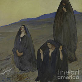 Edwin Austin Abbey - The Three Marys