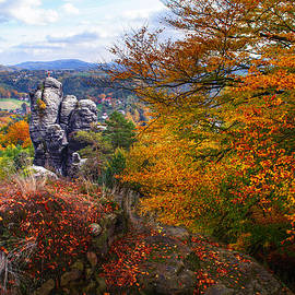 Jenny Rainbow - The Touch of Gold. Saxon Switzerland