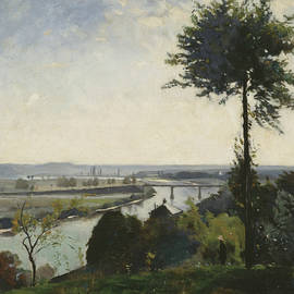 The Tree and the River III - Carl Fredrik Hill