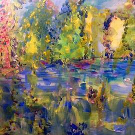 Judith Desrosiers - The trees by the river
