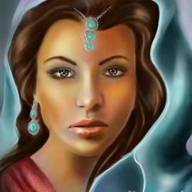 The turquoise Rania...
