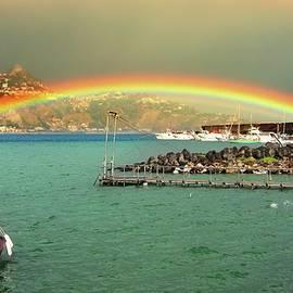 Yuri Hope - The two-story rainbow. Sicily, Italy