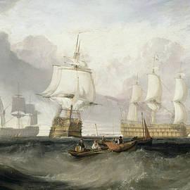 The Victory Returning from Trafalgar - Joseph Mallord William Turner