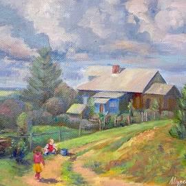 Anna Shurakova - The village