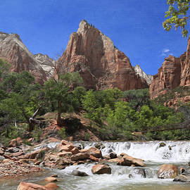 Donna Kennedy - The Virgin River At Zion