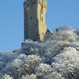 John Butterfiled - The Wallace Monument Stirling Scotland in winter