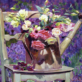 David Lloyd Glover - The Watering Can Bouquet