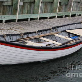 Dora Sofia Caputo Photographic Art and Design - The White Boat at Greenport Harbor