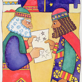 The Wise Men Looking for the Star of Bethlehem - Cathy Baxter