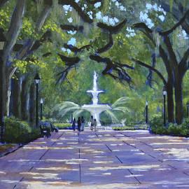 David Zimmerman - Then Fountain at Forsyth Park