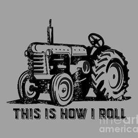 This is how I roll tee - Edward Fielding