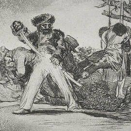 This is too much from the series The Disasters of War  - Francisco Goya
