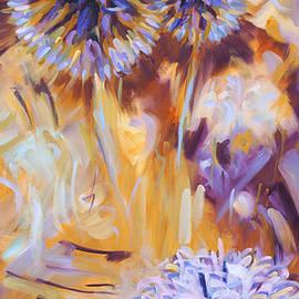 Dusan Balara - Thistle Triptych Right Panel