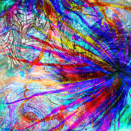 Abstract Angel Artist Stephen K - Thoughtful