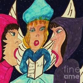 Elinor Rakowski - Three Angel Carolers