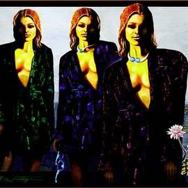 Hartmut Jager - Three  Beautiful Triplet Ladies