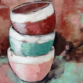 Cathy MONNIER - Three cups