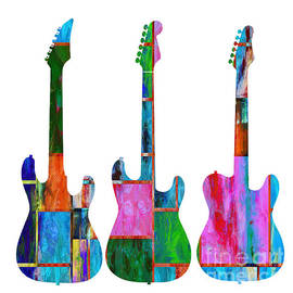 Three Guitars 4 - Edward Fielding