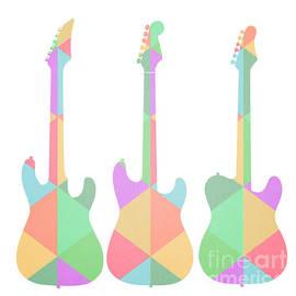 Three Guitars Triangles - Edward Fielding