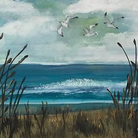 Christina Schott - Three Gulls