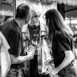 Geoffrey Coelho - Three Men On A Sidewalk