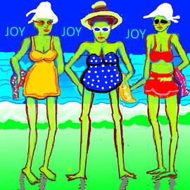 Anand Swaroop Manchiraju - Three On The Sea Beach-7