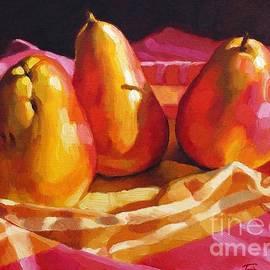 Fiona Craig - Three Pears