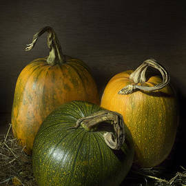 Ann Garrett - Three Pumpkins