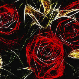 Alexey Bazhan - Three red roses 2