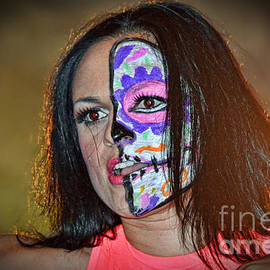 Jim Fitzpatrick - Woman Wrestler Thunder Rosa Dangerous But Beautiful II