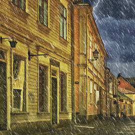 L Wright - Thunderstorm In This Old Town