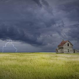 Randall Nyhof - Thunderstorm on the Prairie