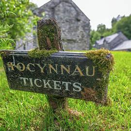 Adrian Evans - Tickets Sign