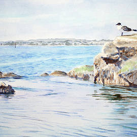 Christopher Reid - Tidepool With Terns