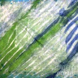 Ausra Huntington nee Paulauskaite - Tie Dye Art. Rainforest in Spring