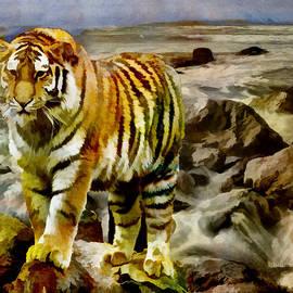 EricaMaxine  Price - Tiger At the Seashore